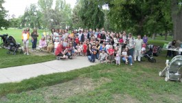 Everyone who attended our 1st Annual Microtia/Atresia picnic