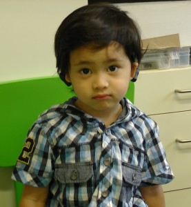 Hazeeq, 2 years old, BMA, lives in Malaysia