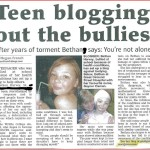 Bethan Harvey helping promote awareness about Microtia and Atresia and discouraging bullying