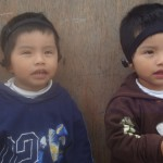 Fabrizio and Fabiano Vega Silvestre, BMA twins, Lima, Peru.