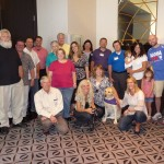 Oticon Medical's first advocacy meeting with Curt Gorman (2011) in Chicago.