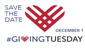 December 1st, 2015 is Giving Tuesday Day, a global day to help give back to charity organizations and the community.